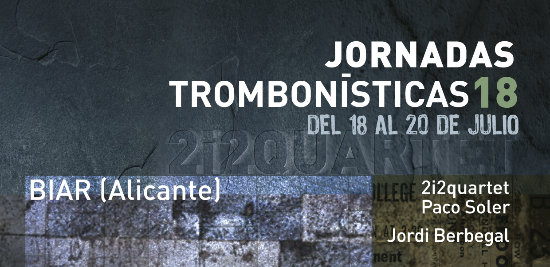 Jornadas Trombonísticas 2018 Biar