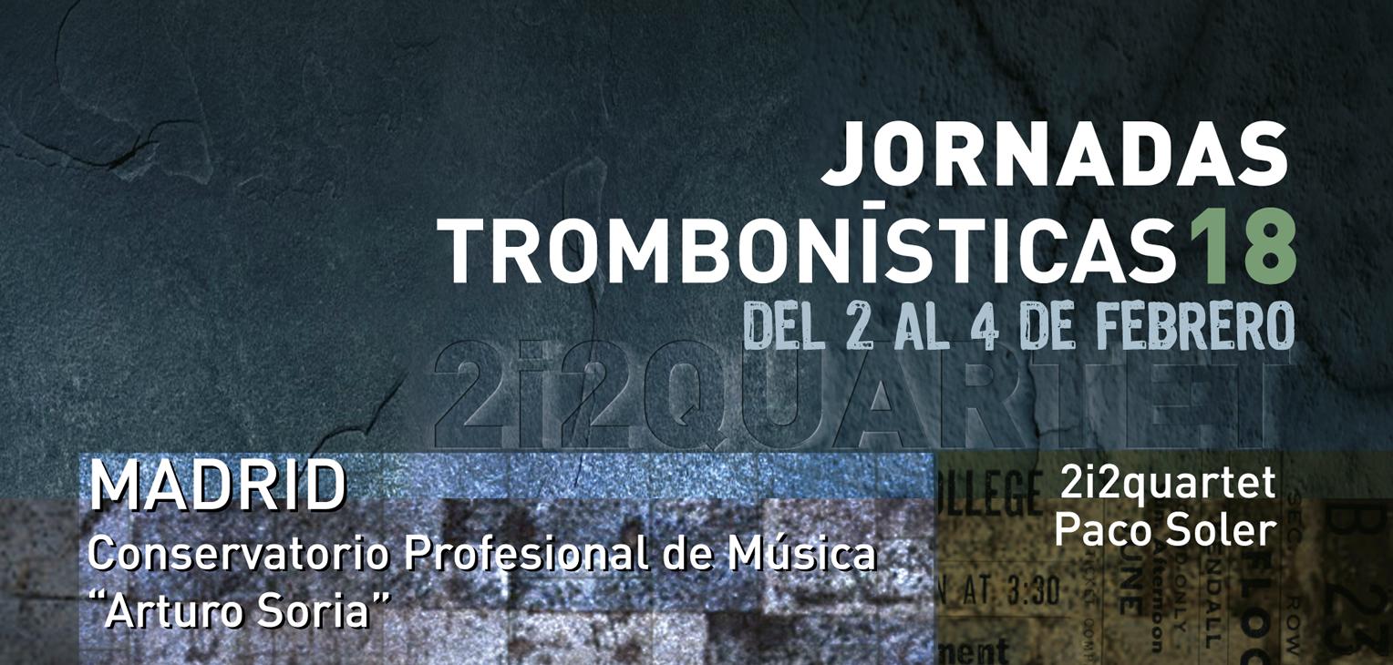 Jornadas Trombonísticas 2018 Madrid